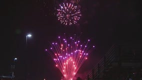 Thousands enjoy fireworks lighting up the night sky in Scottsdale