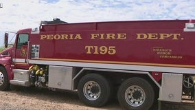Learning about Peoria Fire Wildland Department