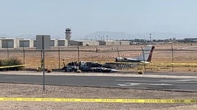 Four injured after small plane goes down near Chandler Municipal Airport