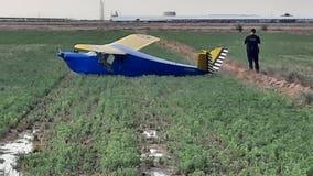 Two people OK after making emergency landing in Buckeye Valley