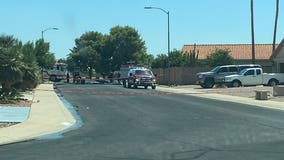 Man, firefighter hospitalized after Peoria hazmat situation with chlorine