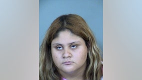 Glendale woman arrested after child porn was found on her phone; suspect tried to send love note to student