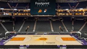Phoenix Suns Arena now called Footprint Center