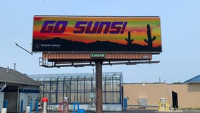 'Go Suns' billboard in Milwaukee, Bucks fans say, 'What the heck?'
