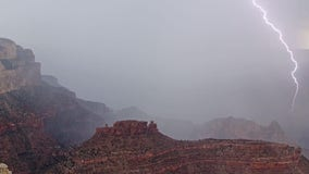 NPS: Multiple people struck by lightning during monsoon storm at Grand Canyon