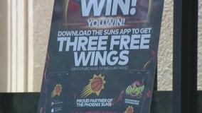 Several businesses offering deals, freebies for Suns winning streak