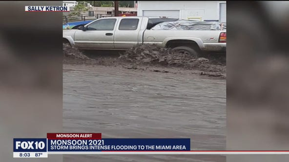 Cleanup underway after severe flooding in Miami