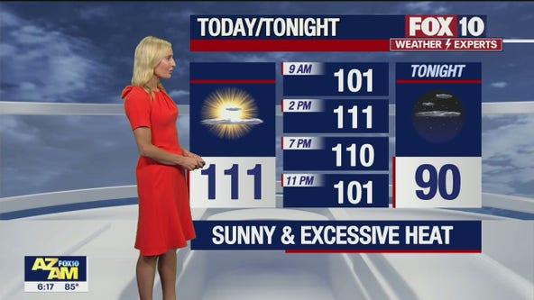 Morning Weather Forecast - 7/11/21