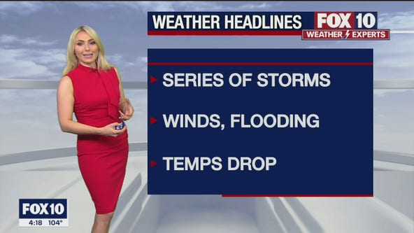 4 p.m. Weather Forecast - 7/29/21