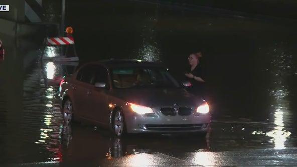 Monsoon storm causes flooding along I-17