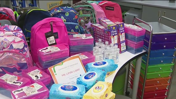 Salvation Army Backpack SOS: Students receive new school supplies