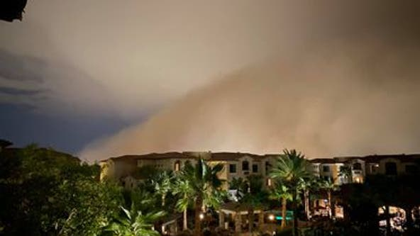 Thousands without power as monsoon storm battered the Valley