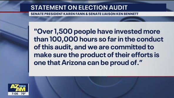 Senate liaison Ken Bennett will remain with Arizona election audit