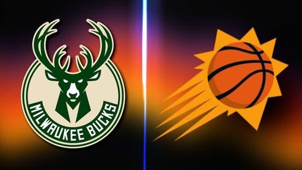 Milwaukee Bucks edge Phoenix Suns 123-119 to take 3-2 lead in NBA Finals