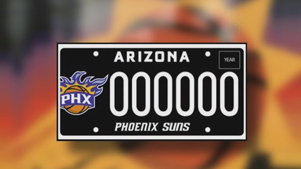 As Suns battle for NBA title, more people are getting their specialty license plate