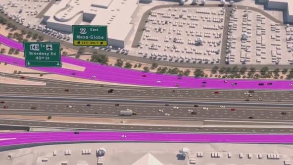 Portion of westbound I-10 closed throughout the weekend; what you need to know to plan ahead