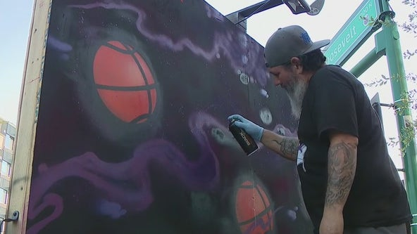 Murals popping up around Phoenix area as Valley shows off its Suns pride
