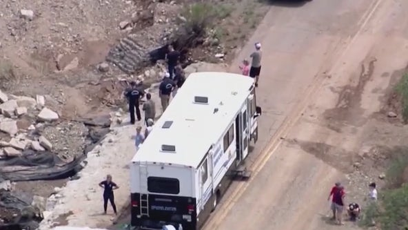 Searchers carrying GPS devices while looking for washed away Cottonwood teen