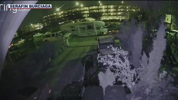 Neighbor's doorbell camera captures police shooting and chase in Chandler