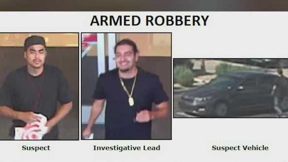 Silent Witness seeks armed robbery suspect