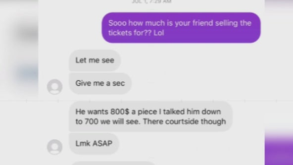 Phoenix Suns fan scammed out of $2,500 for Finals tickets