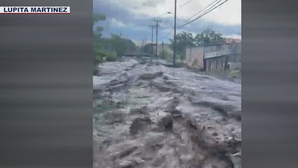 Monsoon rain brings flash flooding to Miami area