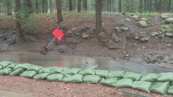 Flagstaff on alert as monsoon storm continues to batter area