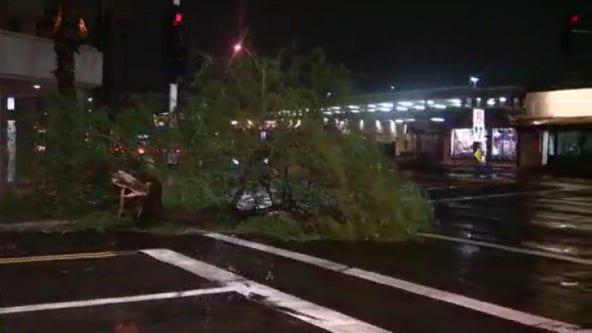 Monsoon storm wreaks havoc on parts of Phoenix