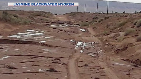 Navajo Nation faces extreme flood conditions as most roads are made of dirt