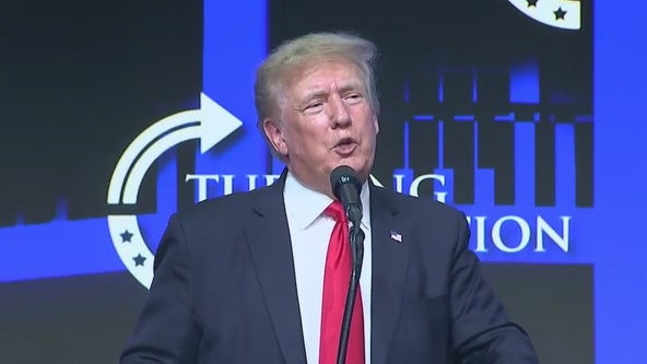 Former President Donald Trump visits Phoenix for 'Protect Our Elections Rally'