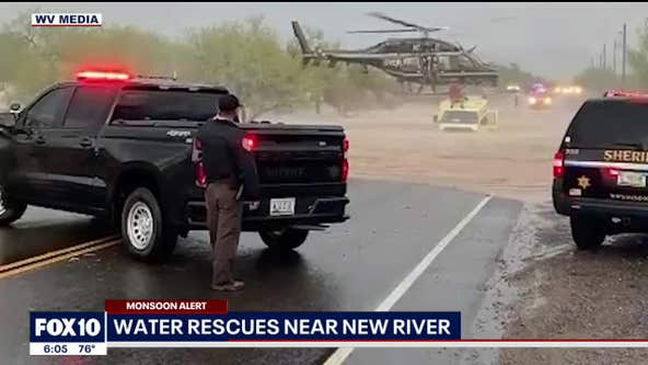 Flooding near New River prompts water rescue