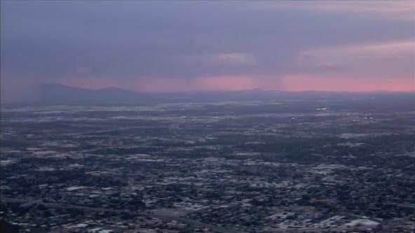 Dust storm moves over Phoenix area during monsoon season