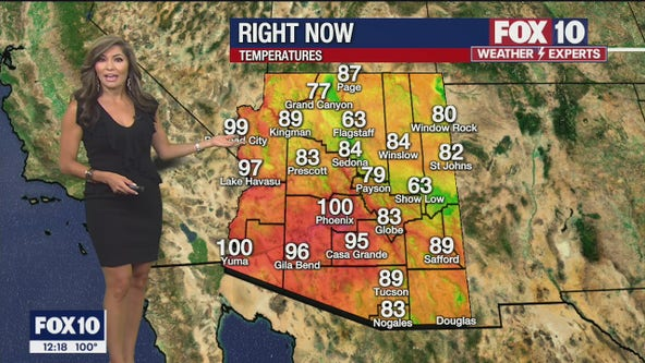 Noon Weather Forecast - 7/30/21
