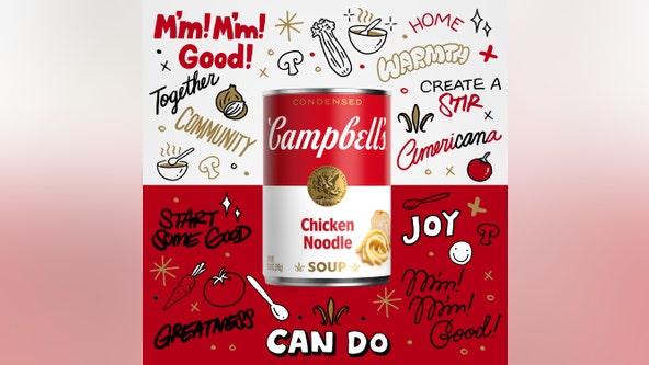 Campbell's redesigns soup cans for 1st time in 50 years