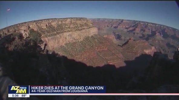 Louisiana hiker dies in Grand Canyon