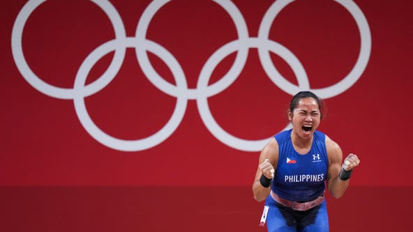 Philippines' first-ever gold medalist also winning cash, housing and other prizes