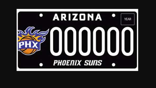 ADOT: Phoenix Suns' NBA title run sparks increase in specialty plate sales