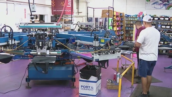 Chandler company ready to print Phoenix Suns apparel for anticipated Finals win