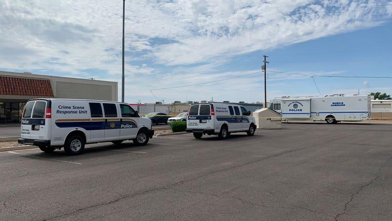 Phoenix police crime scene