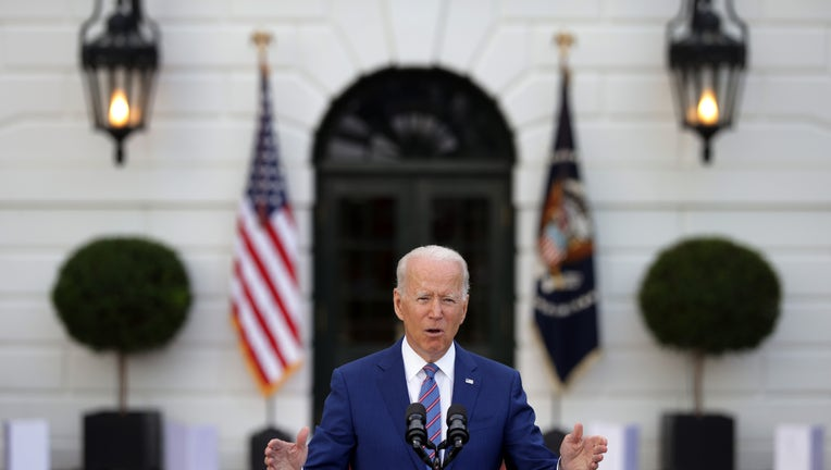 President Biden Celebrates Independence Day With BBQ And Fireworks