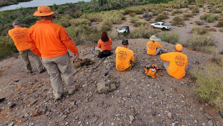 Mohave County search and rescue team