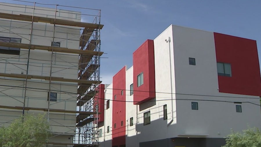 Nonprofit builds affordable housing community in central Phoenix