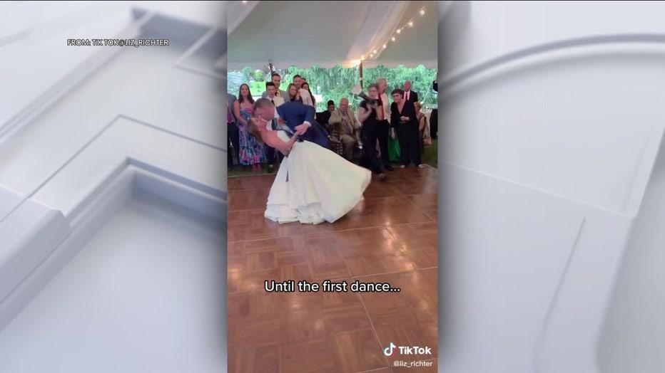 Bride Dislocates Knee Wedding