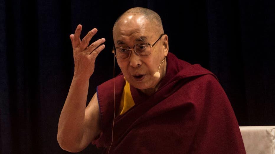 Tibetan Spiritual Leader The 14th Dalai Lama Delivers 11th Silver Lecture At Mumbai University