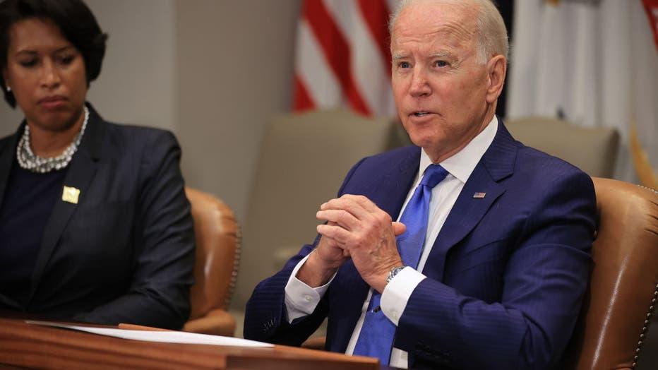 President Biden Holds Meeting To Discuss Reducing Gun Violence