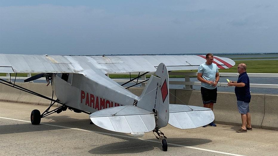 OCNJ Plane Landing