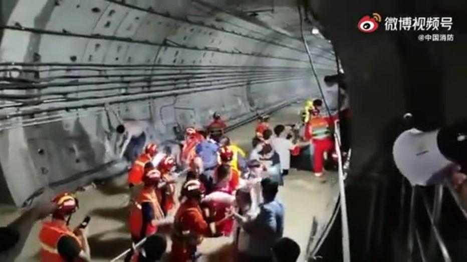 flooding in subway henan