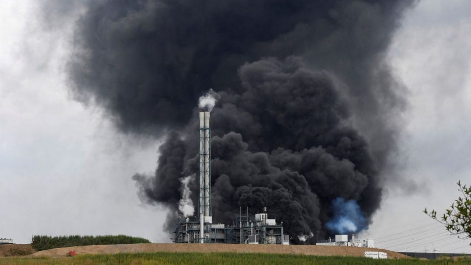 638918ba-GERMANY-CHEMICALS-WASTE-EXPLOSION