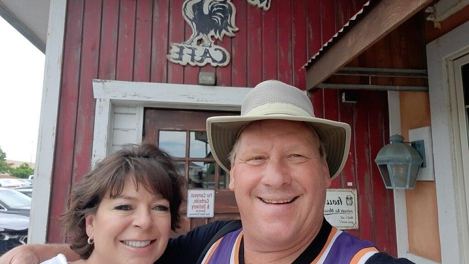 Cindy and Calvin Stockton. Photo courtesy of the Stockton family