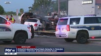 1 dead in fiery multi-car crash at Phoenix intersection